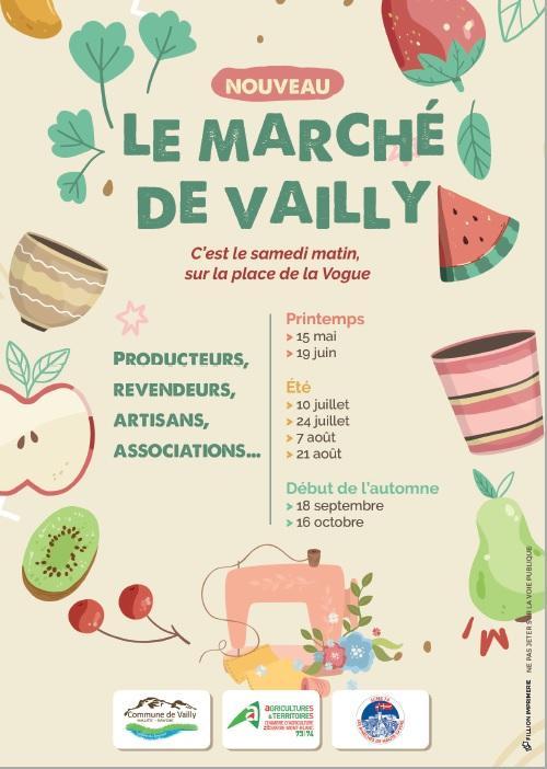 Image de couverture - Nouveau : le marché de Vailly !