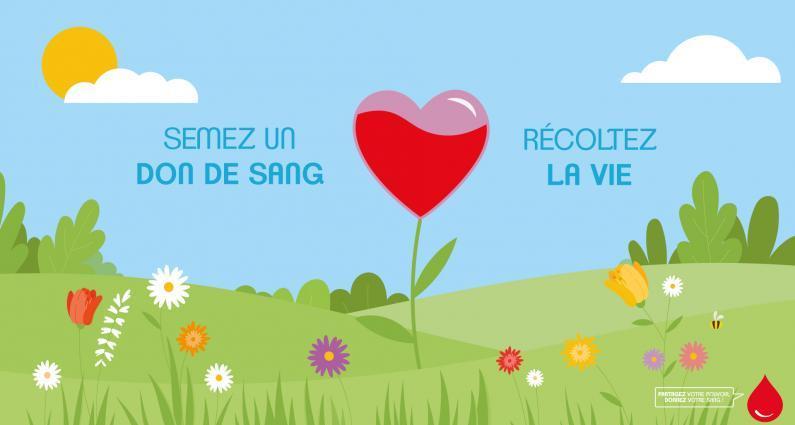 Image de couverture - DON DU SANG le 22 avril en salle des fêtes de Raimbeaucourt