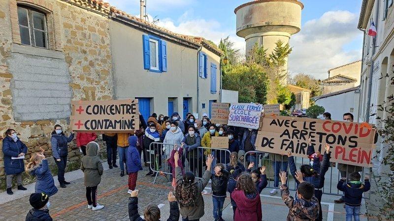Image de couverture - Mobilisation pour l'école du RPI de  Villasavary
