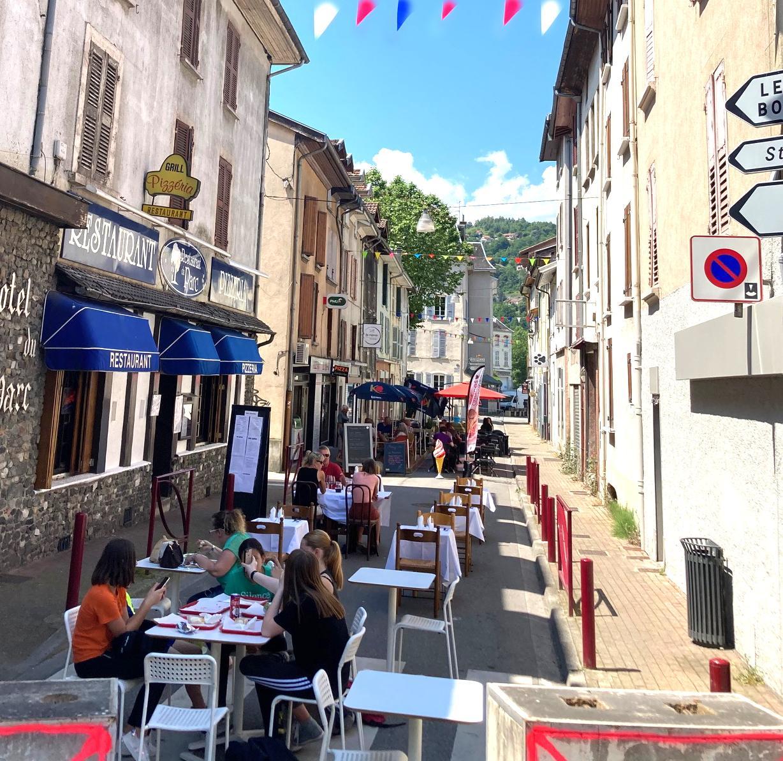 Image de couverture - Piétonisation estivale de la Rue Aristide Briand