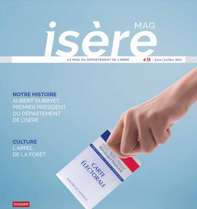 Image de couverture - Isère MAG JUIN JUILLET