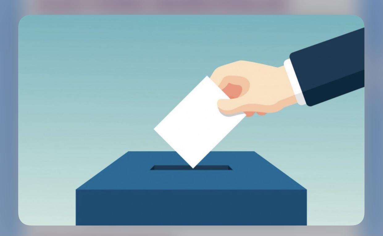 Image de couverture - Procuration pour les elections