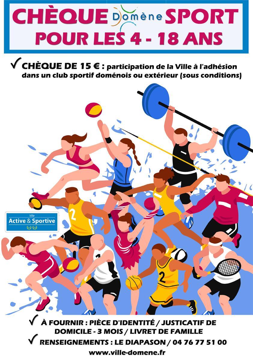 Image de couverture - Chèque sport 2021-2022