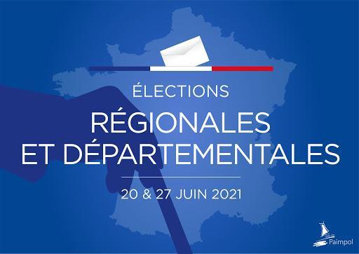 Image de couverture - Dimanche 20 juin : 1er tour des élections départementales et régionales 2021