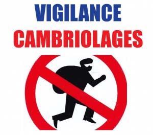 Image de couverture - Vigilance cambriolages