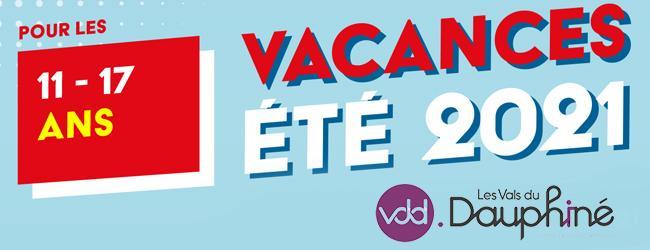 Image de couverture - Programme Vacances d'été 2021