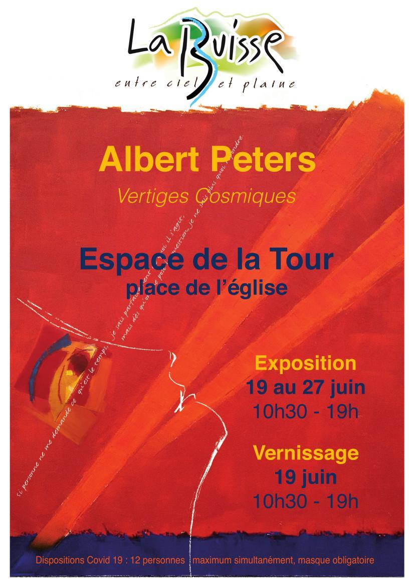 Image de couverture - Exposition Albert Peters à l'Espace de La Tour