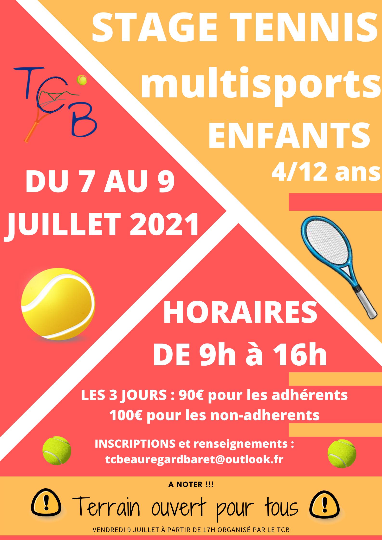 Image de couverture - Tennis Club Beauregard-Baret