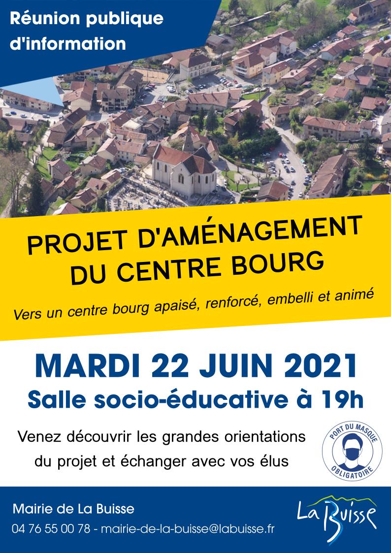 """Image de couverture - Participez à la réunion publique """"Aménagement du Centre Bourg"""""""