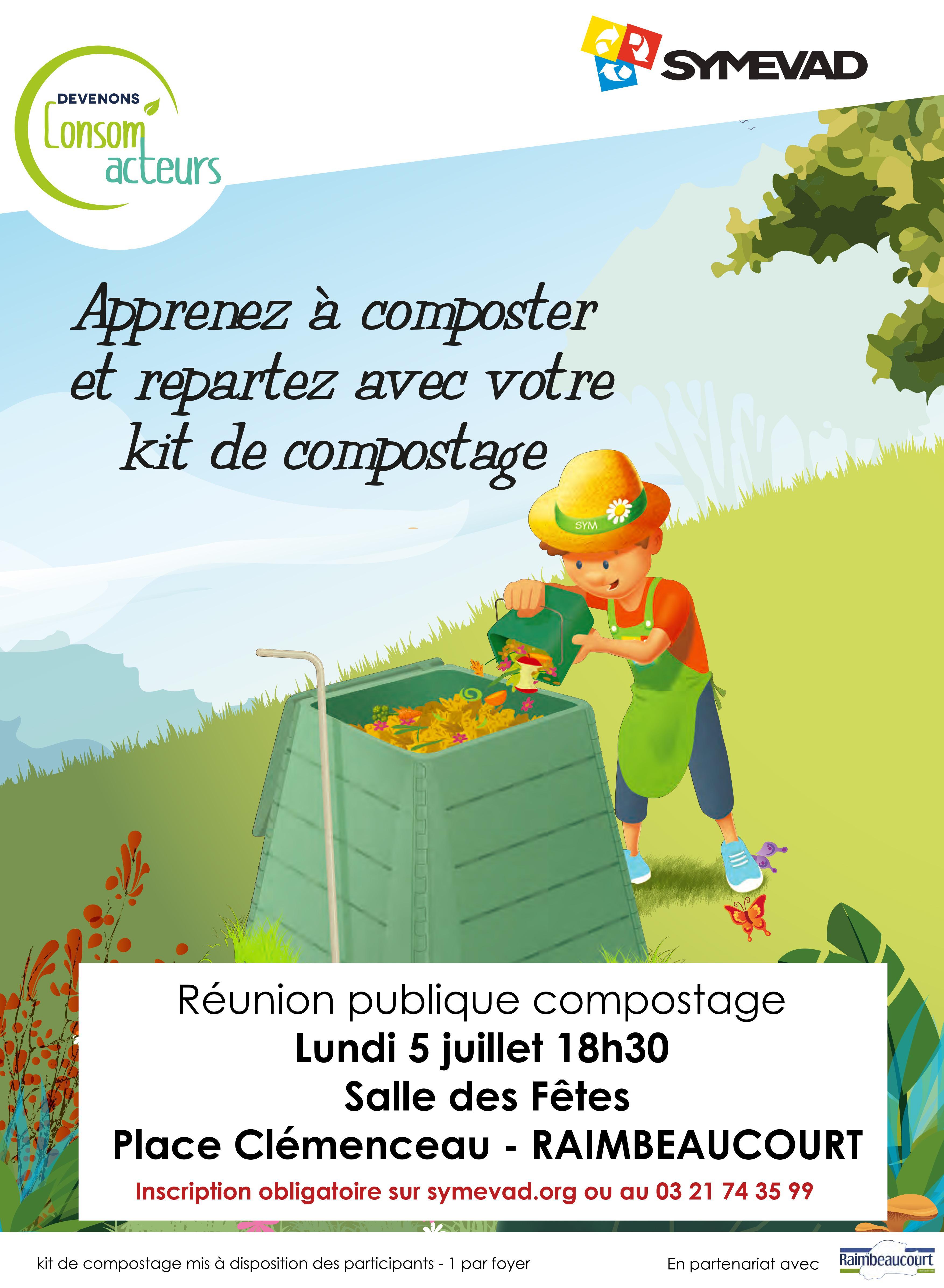 Image de couverture - Réunion compostage avec le Symevad
