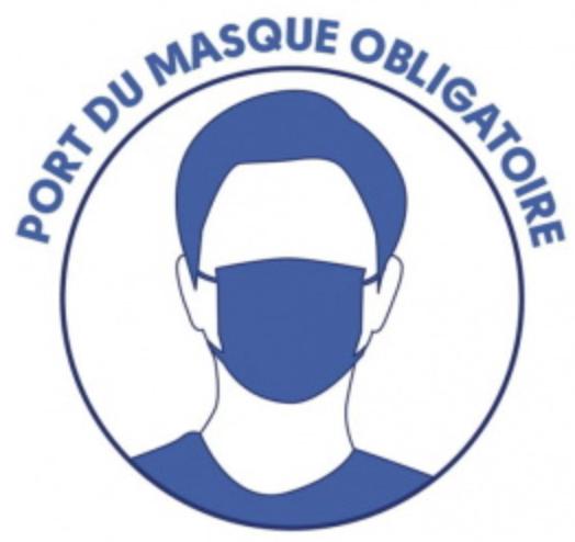 Image de couverture - Port du masque obligatoire sur l'ensemble de l'espace public à Renage