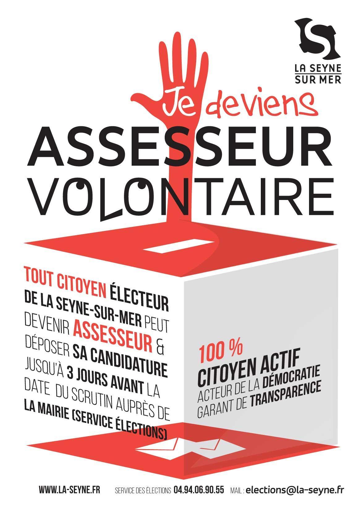 Image de couverture - Appel aux volontaires pour devenir assesseur aux éléctions de 20 et 27 juin 2021
