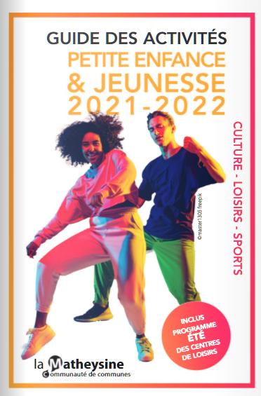Image de couverture - GUIDE DES ACTIVITES: PETITE ENFANCE & JEUNESSE 2021-2022