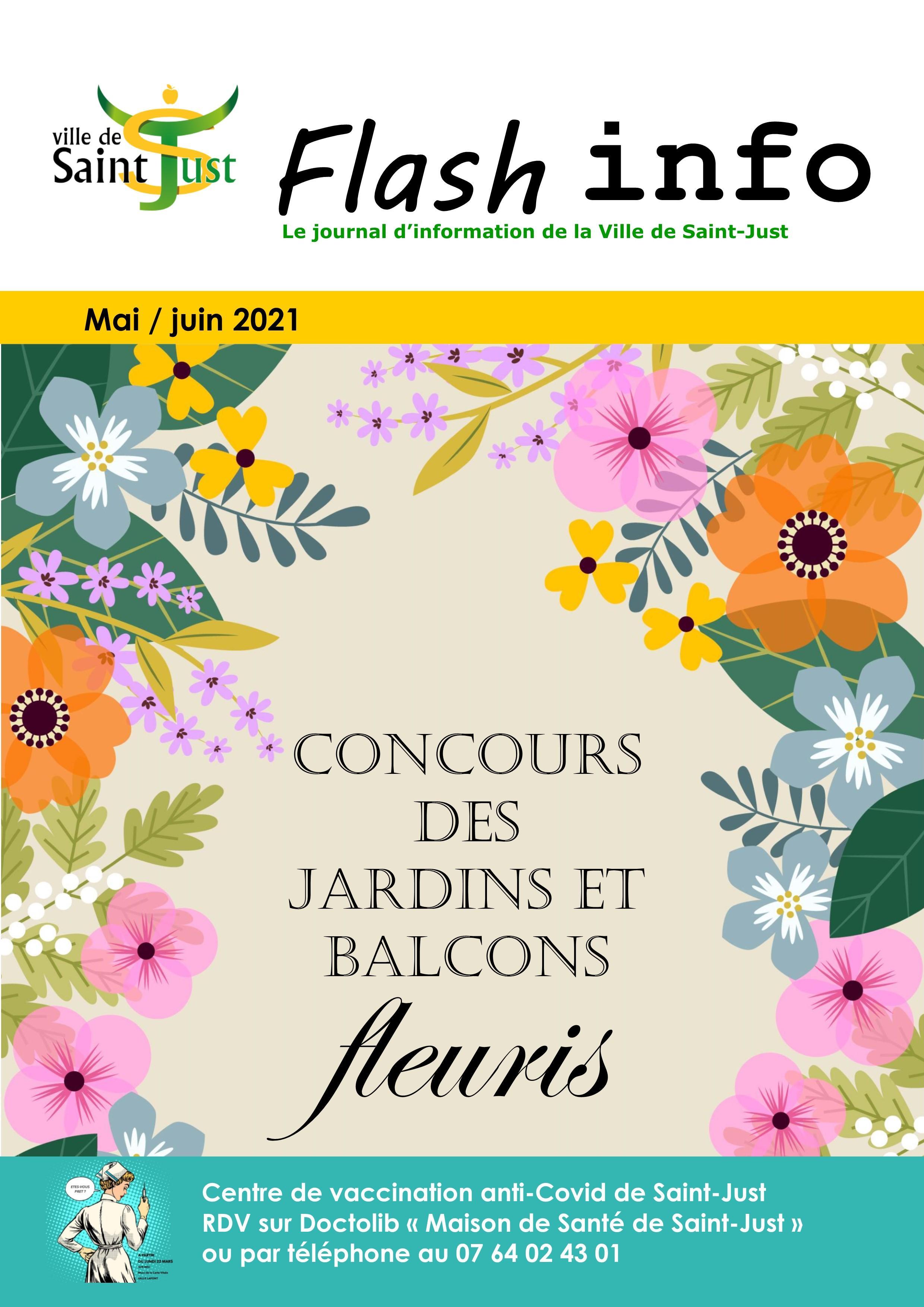 Image de couverture - Flash info mai / juin