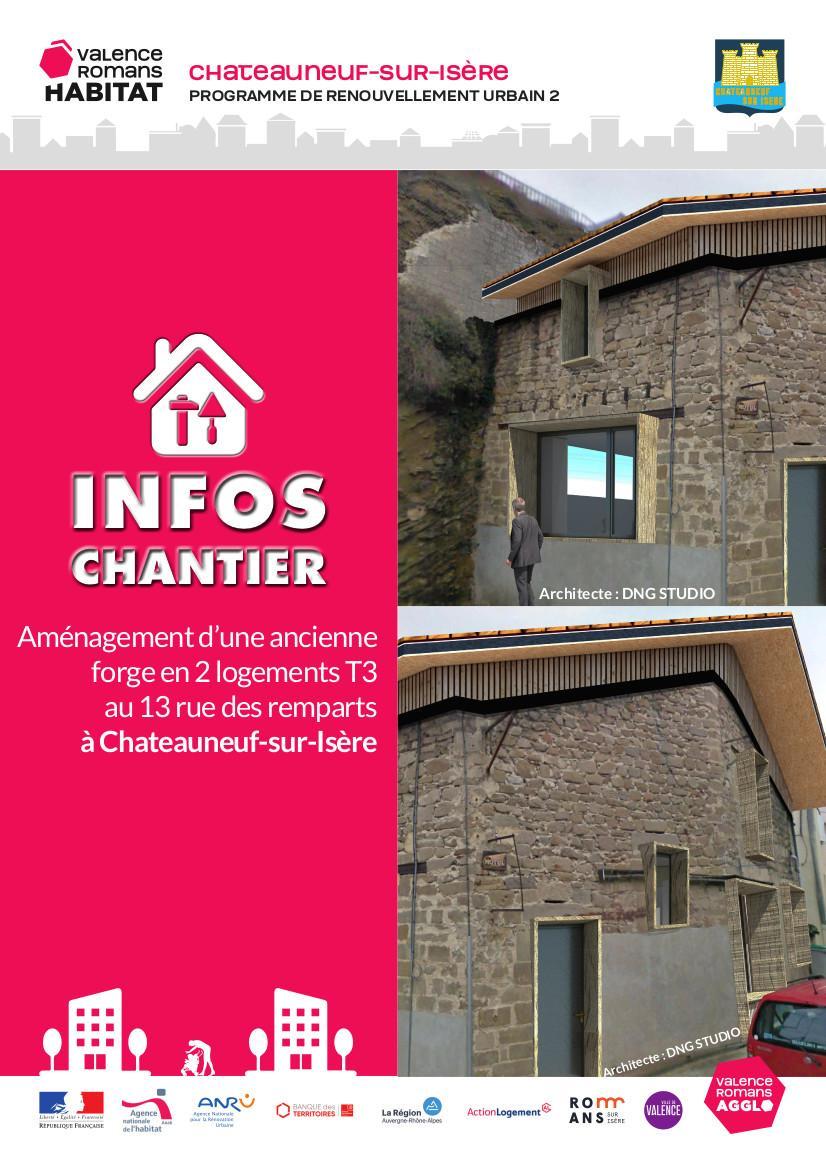 Image de couverture - Aménagement de l'ancienne forge en 2 logements T3
