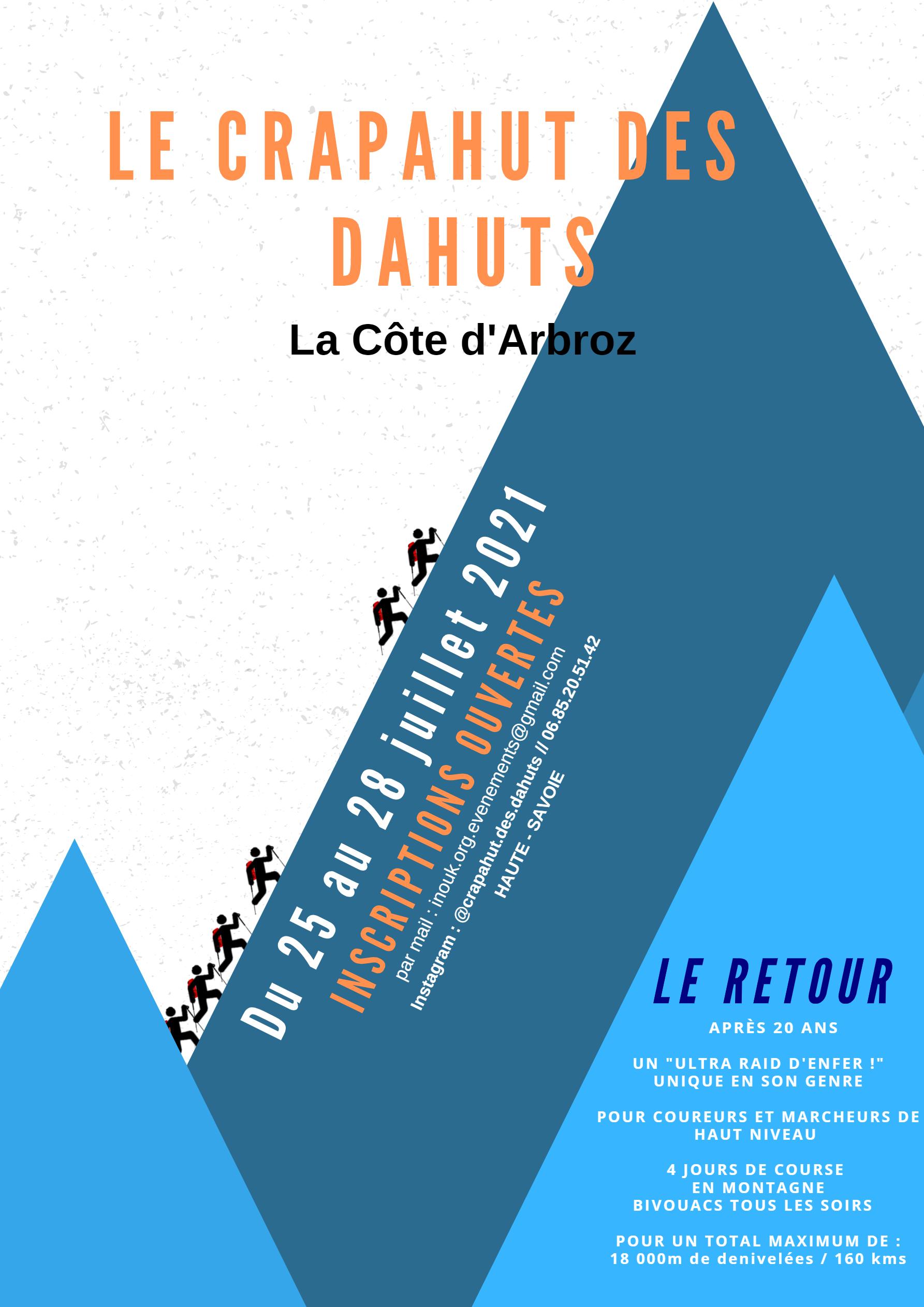 Image de couverture - Crapahut des Dahuts