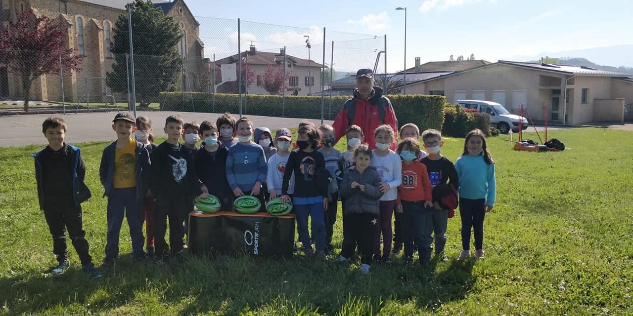Image de couverture - Garder le lien avec l'école de rugby !!