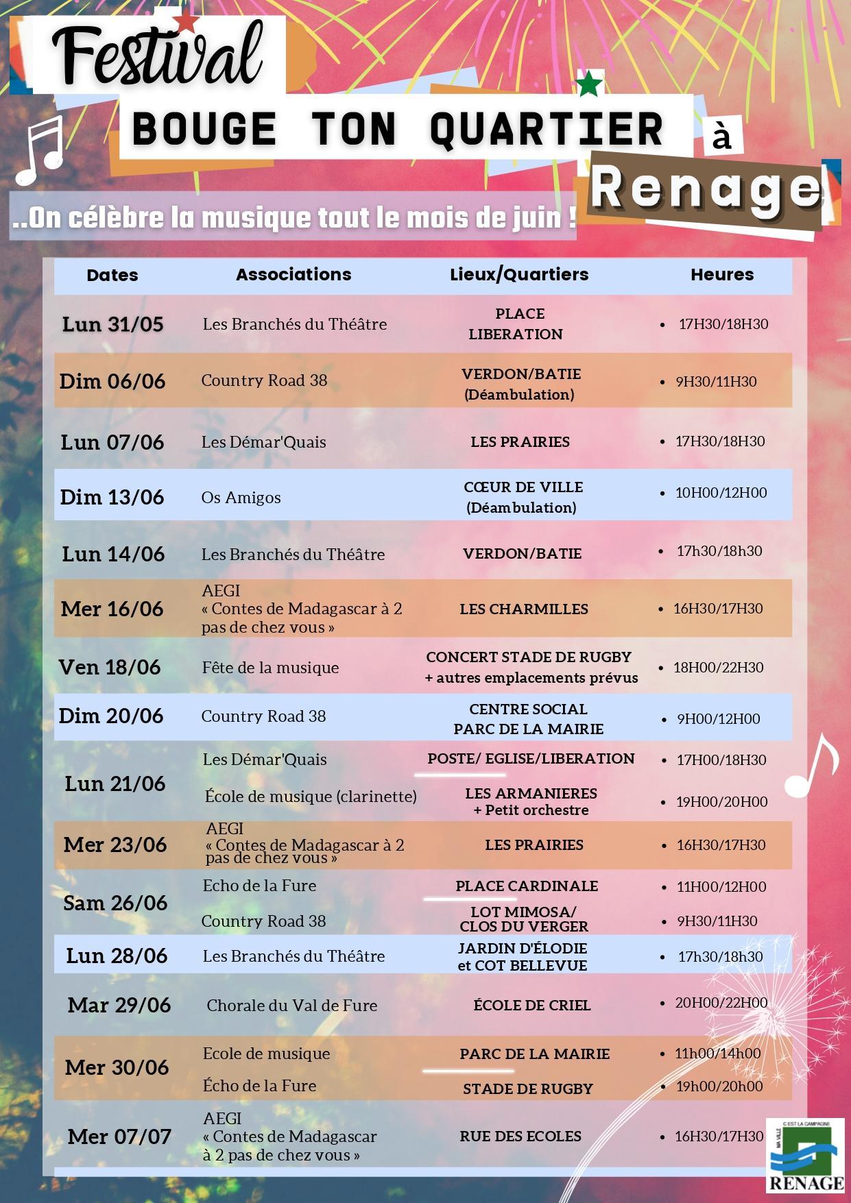 Image de couverture - 🏘 [FESTIVAL : Bouge ton quartier à Renage]🎶