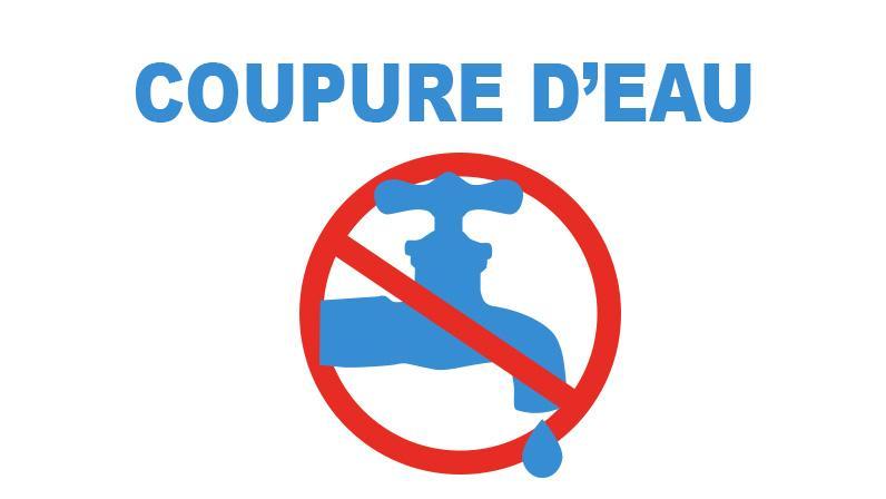 Image de couverture - Coupure d'eau mardi 5 octobre