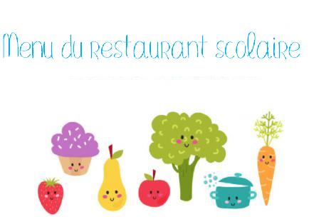Image de couverture - Menu du restaurant scolaire du 11 au 22 octobre 2021