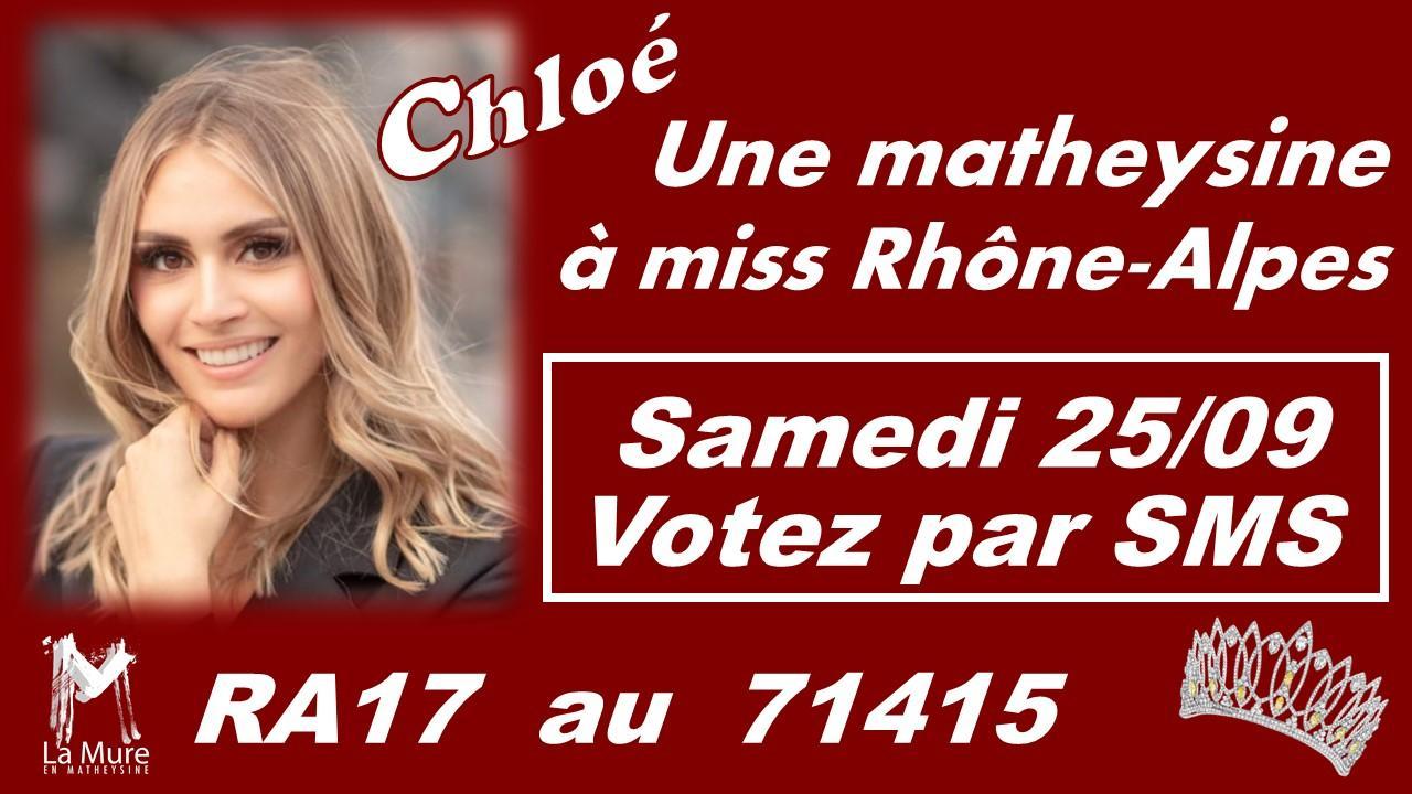 Image de couverture - Chloé... Une muroise à l'élection de Miss Rhône-Alpes !!!