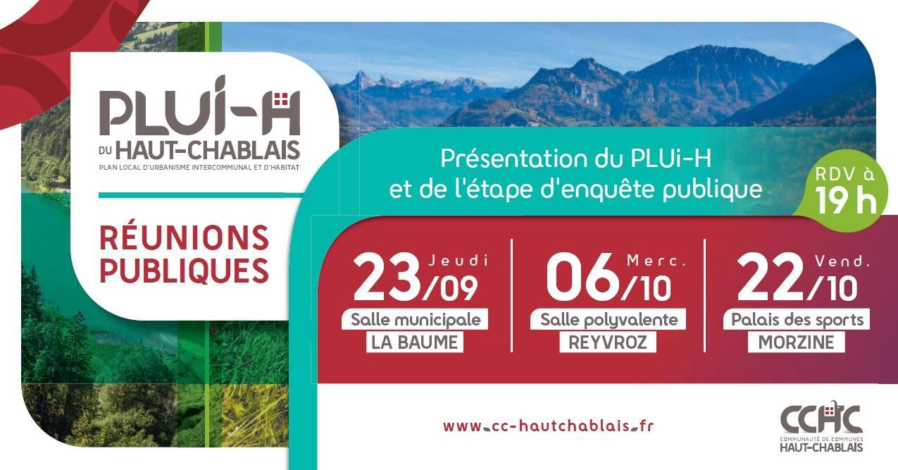 Image de couverture - Réunions publique PLUi-H