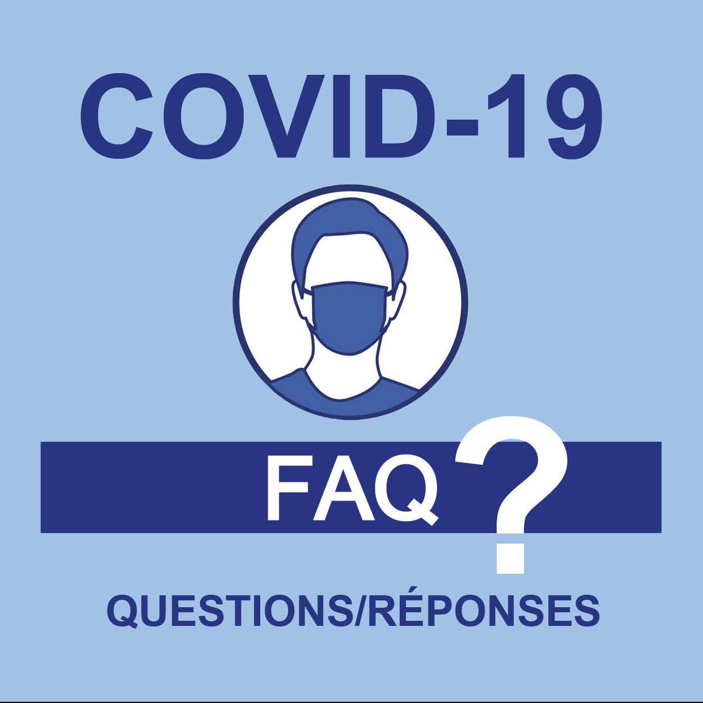 Image de couverture - Foire aux questions COVID-19