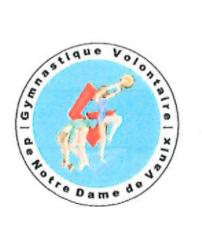 Image de couverture - AG Association gymnastique volontaire de Notre Dame de Vaulx