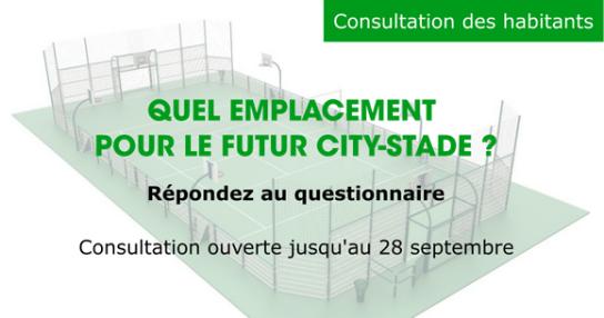 Image de couverture - Consultation : quel emplacement pour le futur city-stade ?