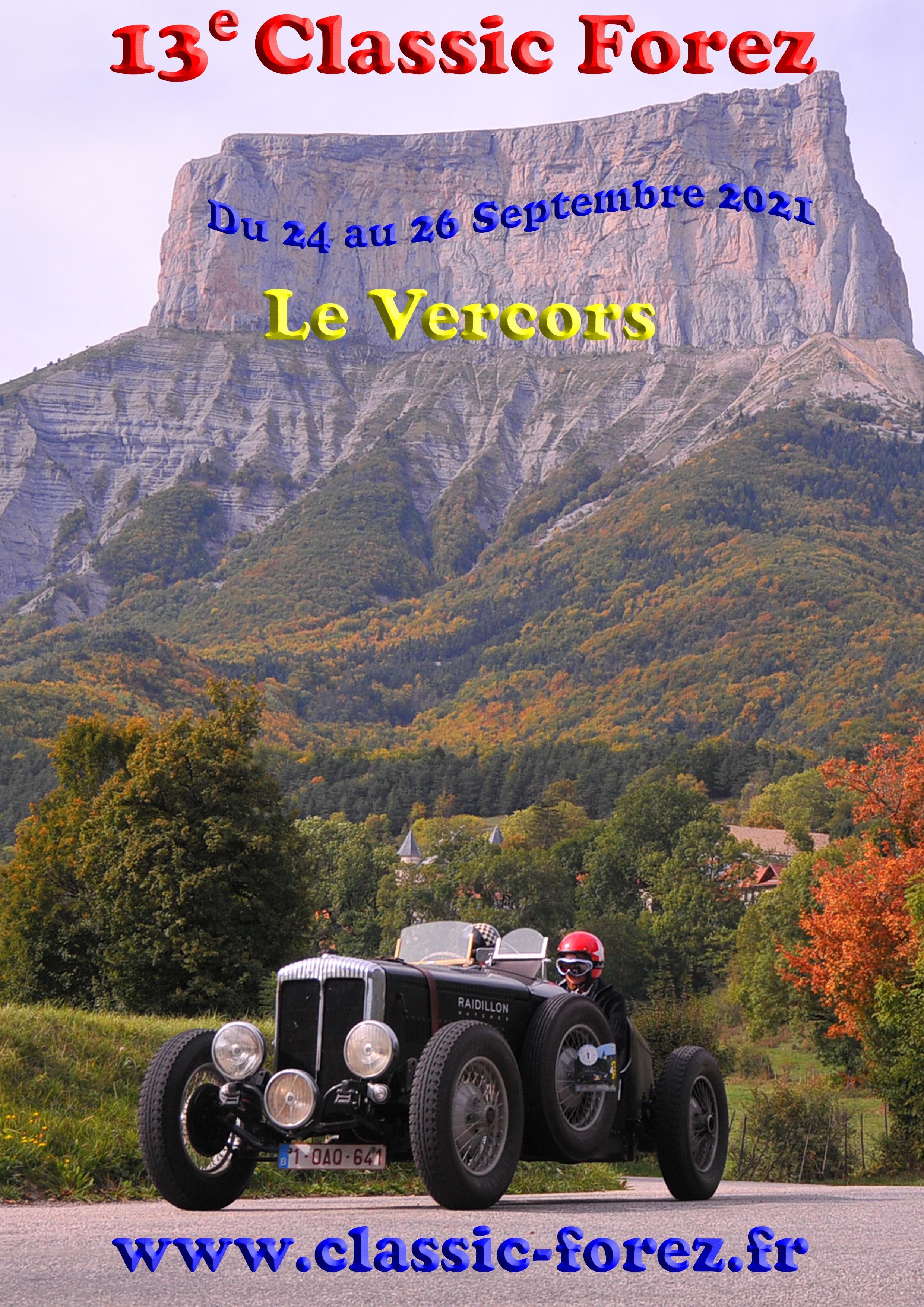Image de couverture - La 13ème Classic Forez dans le Royans Vercors !