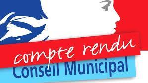 Image de couverture - Compte Rendu Municipal
