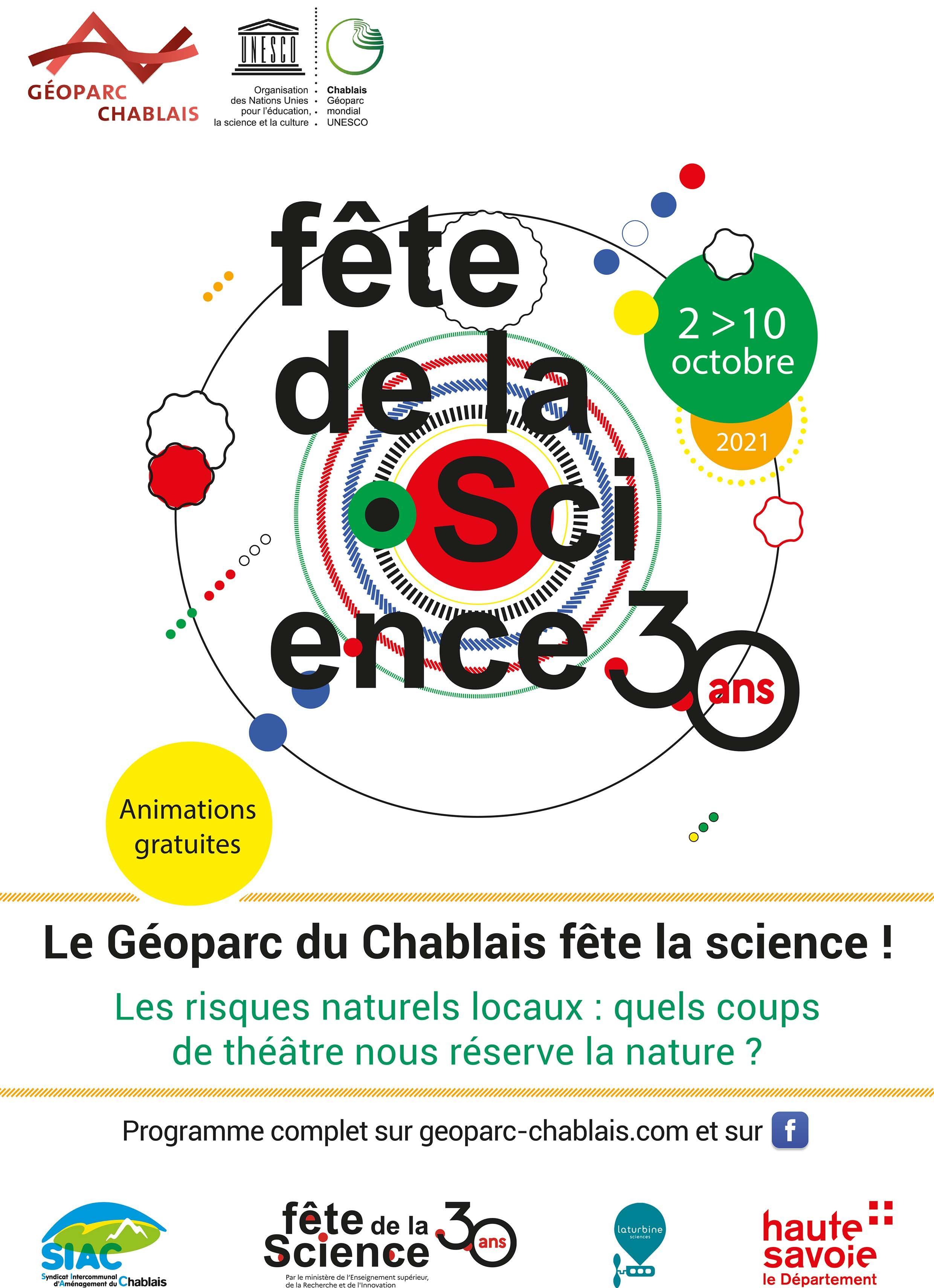 Image de couverture - Fête de La Science
