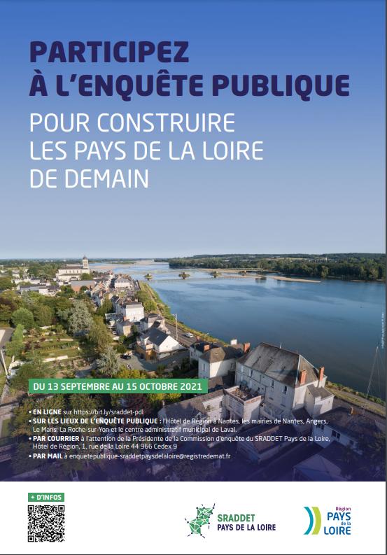 Image de couverture - La Région invite les Ligériens à participer à l'enquête publique pour construire les Pays de la Loire de demain