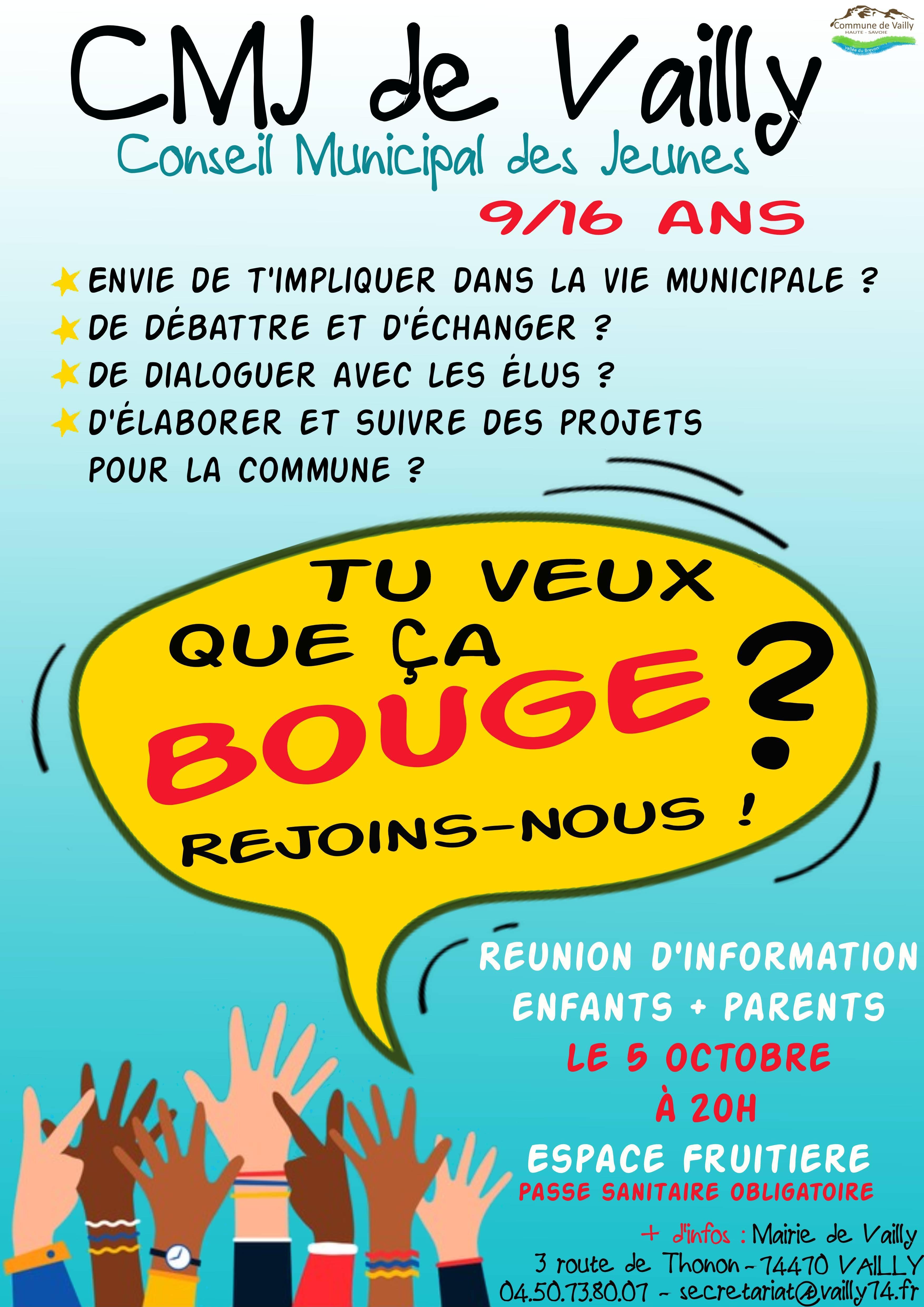 Image de couverture - Mise en place d'un Conseil municipal des jeunes